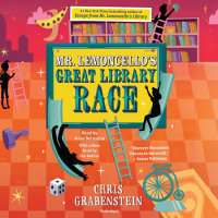 Cover of Mr. Lemoncello\'s Great Library Race cover