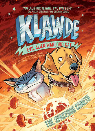 Cover image for Klawde: Evil Alien Warlord Cat: The Spacedog Cometh #3