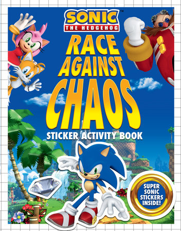 Race Against Chaos Sticker Activity Book