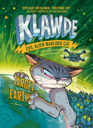 Cover image for Klawde: Evil Alien Warlord Cat: Target: Earth #4