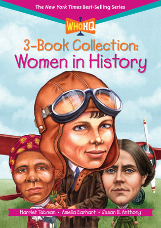 Who HQ 3-Book Collection: Women in History