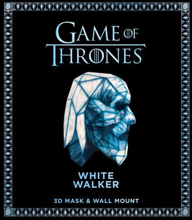 Game of Thrones Mask: White Walker (3D Mask & Wall Mount)