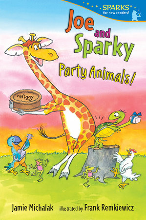 Joe and Sparky, Party Animals!