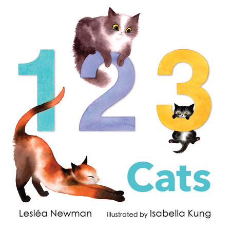 1 2 3 Cats: A Cat Counting Book
