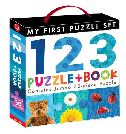 123 Puzzle and Book