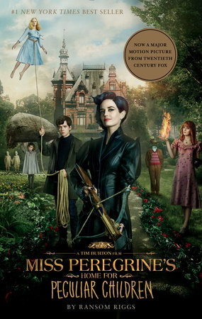 Image result for miss peregrine's home for peculiar children movie novel cover tie in