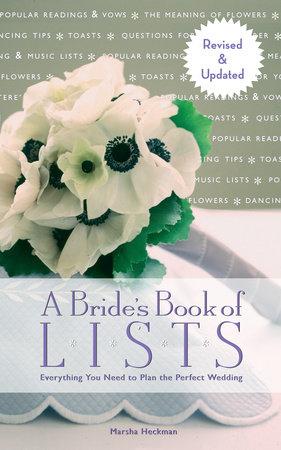A Bride's Book of Lists