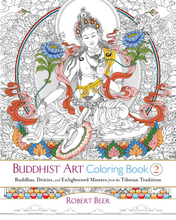 Buddhist Art Coloring Book 2 By Robert Beer