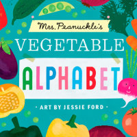 Book cover for Mrs. Peanuckle\'s Vegetable Alphabet