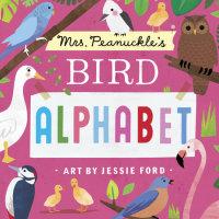 Book cover for Mrs. Peanuckle\'s Bird Alphabet