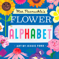 Book cover for Mrs. Peanuckle\'s Flower Alphabet