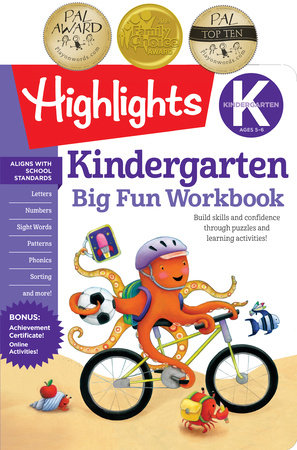 Kindergarten Big Fun Workbook