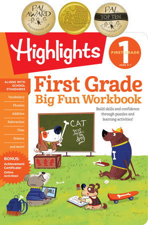 First Grade Big Fun Workbook