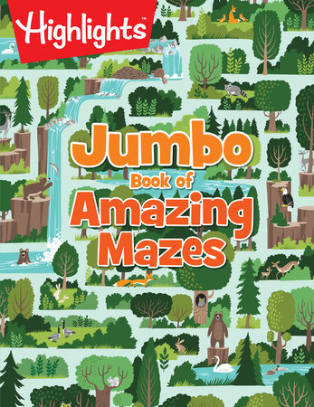 Jumbo Book of Amazing Mazes