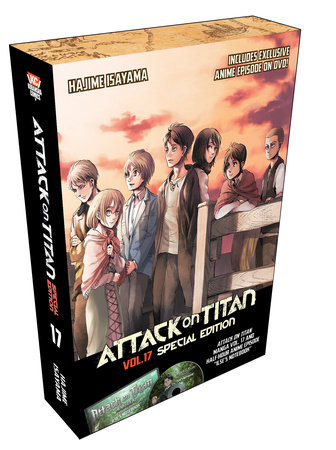 Attack on Titan 17 Manga Special Edition w/DVD