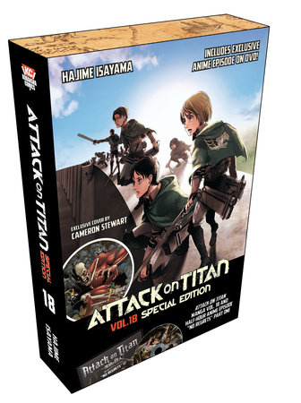 Attack on Titan 18 Manga Special Edition w/DVD