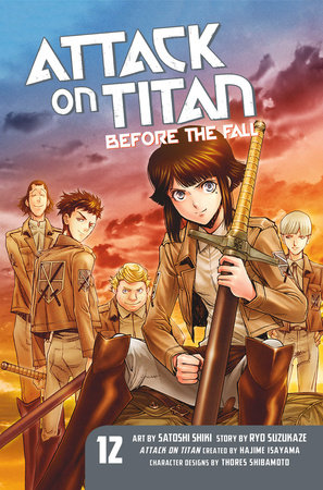 Attack on Titan: Before the Fall 12