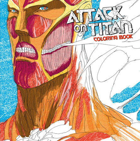 Attack on Titan Coloring Book