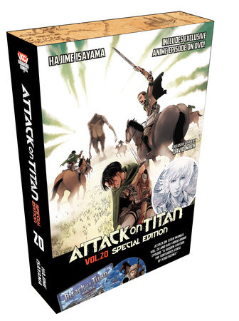 Attack on Titan 20 Manga Special Edition w/DVD