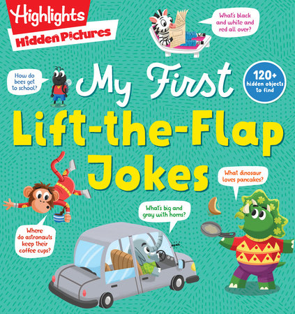 Hidden Pictures My First Lift-the-Flap Jokes