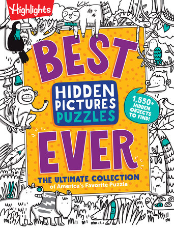 Best Hidden Pictures Puzzles EVER