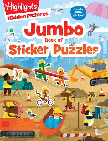 Jumbo Book of Sticker Puzzles