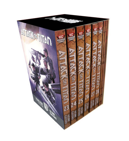 Attack on Titan The Final Season Part 1 Manga Box Set