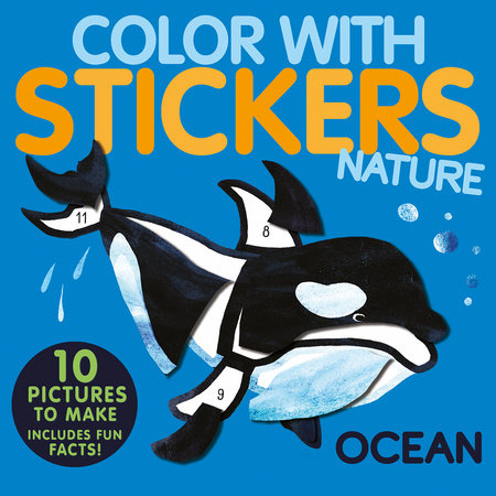 Color with Stickers: Ocean