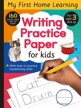 Writing Practice Paper for Kids