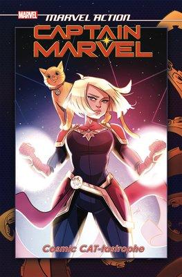Marvel Action: Captain Marvel: Cosmic CAT-tastrophe (Book One)