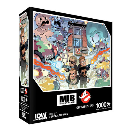 Men In Black/Ghostbusters: Ecto-terrestrial Invasion Premium Puzzle (1000-pc)