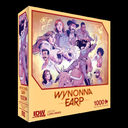 Wynonna Earp: Thirsty Cowgirl Premium Puzzle (1000-pc)