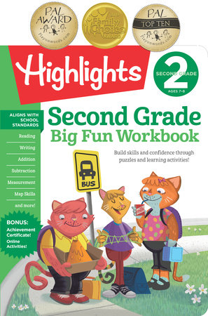 Second Grade Big Fun Workbook