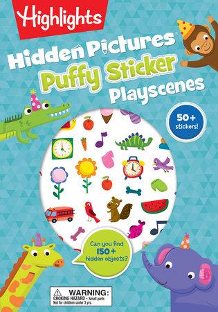 Hidden Pictures® Puffy Sticker Playscenes