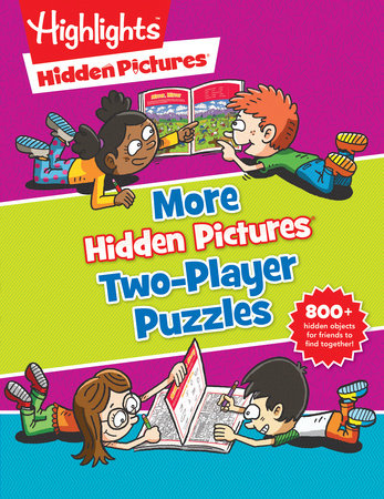 More Hidden Pictures® Two-Player Puzzles