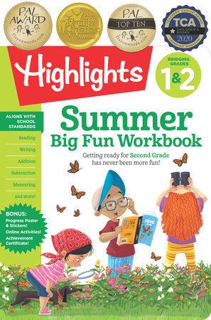 Summer Big Fun Workbook Bridging Grades 1 & 2