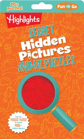 Secret Hidden Pictures® Animal Puzzles