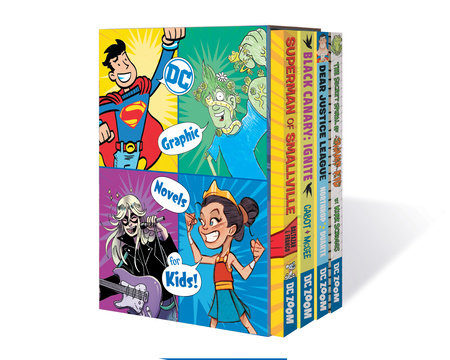 DC Graphic Novels for Kids Box Set 1