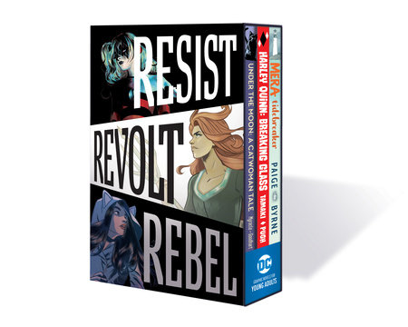DC Graphic Novels for Young Adults Box Set 1Resist. Revolt. Rebel.