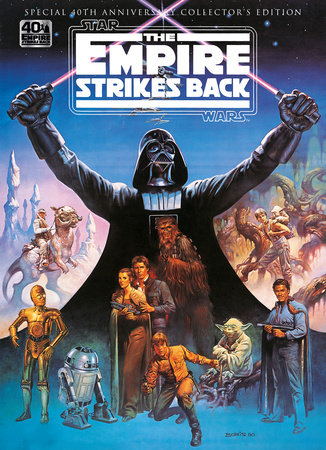 Star Wars: The Empire Strikes Back 40th Anniversary Special Book
