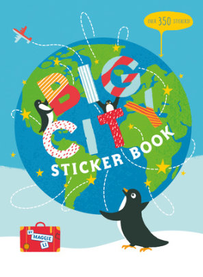Big City Sticker Book - Written by Maggie Li