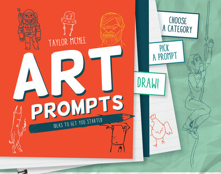 Art Prompts by Taylor Mcnee | Penguin Random House Canada