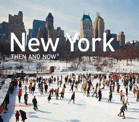 New York Then and Now Mini Hardback