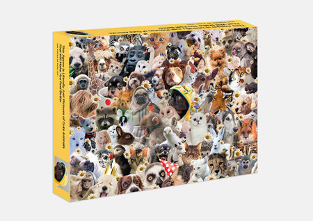 This Jigsaw is Literally Just Pictures of Animals In Hats That Will Make You Feel Better
