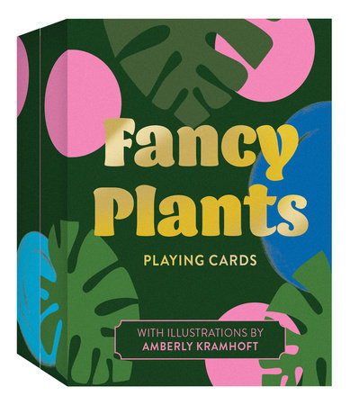 Fancy Plants Playing Cards