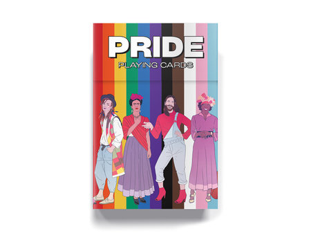 Pride playing cards