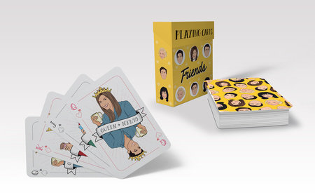 Cover image for Friends Playing Cards