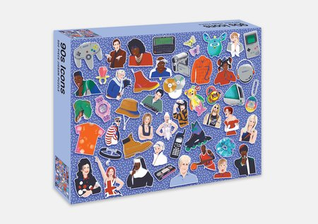 90s Icons Jigsaw Puzzle