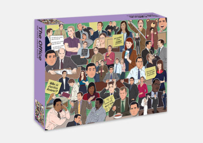The Office Jigsaw Puzzle - Illustrated by Chantel de Sousa
