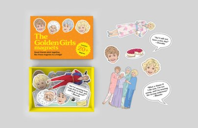 The Golden Girls Magnets - Illustrated by Chantel de Sousa